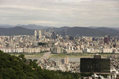 View of Seoul city — Stock Photo