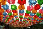 Lanterns at Gaesimsa  temple — Stock Photo