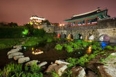 Suwon Castle — Stock Photo