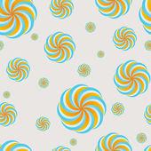 Modern swirly pattern — Stock Vector