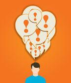 Payer la notion d'attention — Vecteur
