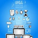 Постер, плакат: Internet search bar