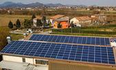 Photovoltaic system — Stock Photo