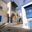 Street of Sidi Bou Said. UNESCO World Heritage — Stock Photo #50203239