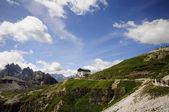 Winding mountain road — Stock Photo