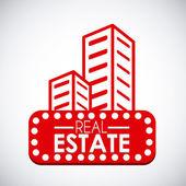 Real estate design — Stock Vector