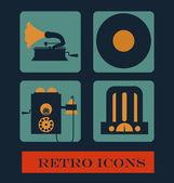 Retro design — Stock Vector