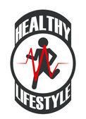 Diseño de fitness — Vector de stock