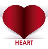 Diseño de corazón — Vector de stock