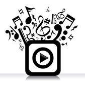 Music design — Stock Vector