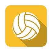 Progettazione di pallavolo — Vettoriale Stock