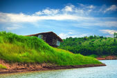 Old wreck boathouse — Stock Photo