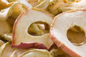 Dried apple rings — Stock Photo