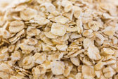 Whole rolled oats — Stock Photo