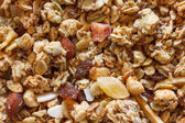 Dry muesli from above — Stock Photo