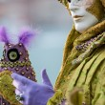 Mask at venice carnival — Stock Photo #50095717