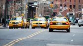 New york yellow cab — Stock Photo