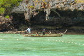 Phuket traditional boat — Photo