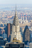 New York areal view — Stock Photo