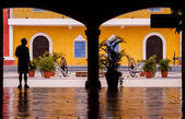 Mexico house — Stock Photo