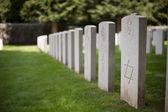 British cemetery — Stock Photo
