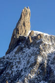 Mont blanc zobrazení — Stock fotografie