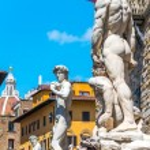 Постер, плакат: Statue of David di Michelangelo