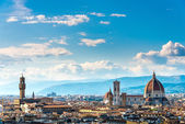 Florence from Piazzale Michelangelo — Stock Photo