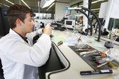 Obrázky v továrně na hodinky hublot — Stock fotografie