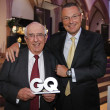 Постер, плакат: Jean Christophe Babin President & CEO with Jack W Heuer Honorary President at GQ Award