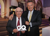 Jean-Christophe Babin, President & CEO with Jack W. Heuer, Honorary President at GQ Award — Stock Photo