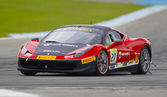Ferrari гоночных дней в хоккенхайме — Стоковое фото