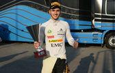 Formel ein Support-Ereignisse mit dem gp2, gp2 und Porsche Supercup — Stockfoto