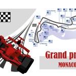 Постер, плакат: RED FORMULA ONE RACE CAR