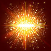 Celebration sparkle lights — Stock Vector