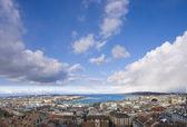 Genève staden — Stockfoto
