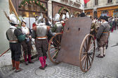 GENEVA, SWITZERLAND, DECEMBER 15: Day of Escalade — Stock Photo