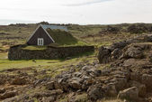 Historic house Iceland — Stock Photo