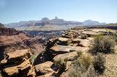Grand Canyon Colorado United States, Arizona, Plateau Point — Stock Photo