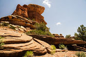 Canyonlands National Park in Southeastern Utah - The Needles — Foto Stock