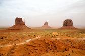 Monument Valley - Arizona, USA — Stock Photo