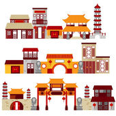Chinatown — Stock Vector
