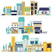 Shopping center — Stock Vector
