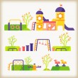 Playground — Stock Vector #46277633