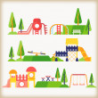 Playground — Stock Vector #46281025