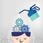 Fixing ideas — Stock Vector