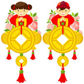 Happy chinese new year — Stock Vector