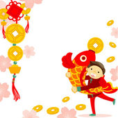 Chinese new year — Stock Vector
