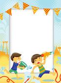 Songkran Festival — Stock Vector