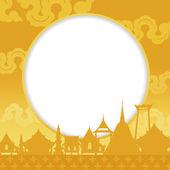 Songkran Festival — Cтоковый вектор